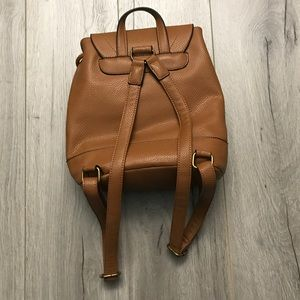 G.H. Bass   Co. Bags   Gh Bass Co Brown Leather Backpack Womens ... 30c98cd360